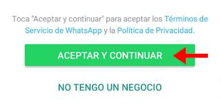 crear cuenta Whatsapp Business