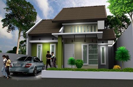 Desain Gambar Denah Rumah Minimalis Sederhana Type 45 Terbaru Rumahspesifikasi Com