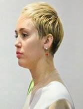 corte cabello de Miley Cyrus