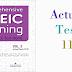 Listening Comprehensive TOEIC Training - Actual Test 11