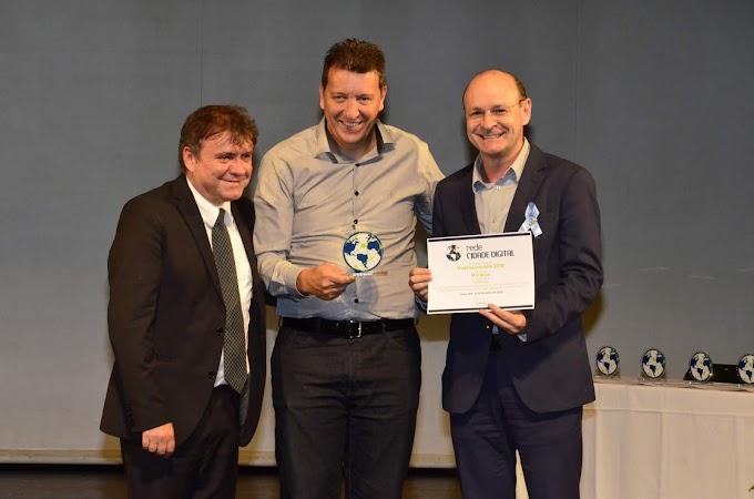 Cachoeirinha foi uma das agraciadas no Prêmio Prefeito Inovador 2018