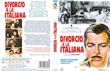 Carátula dvd: Divorcio a la italiana (1961) (Divorzio all'italiana)