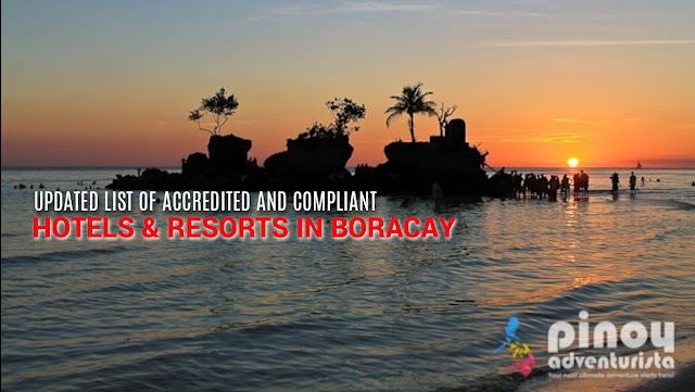 LIST OF ACCREDITED BORACAY HOTELS AND RESORT TO OPEN IN OCTOBER 26 2018