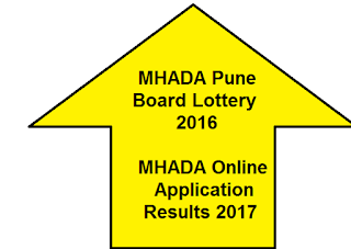 Pune MHADA Lottery Results 2017 - Apply MHADA Lottery 2017