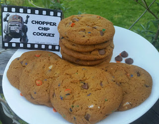 Chopper Chip Cookies Star Wars Rebels Party Food