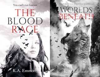 The Blood Race series by K.A. Emmons on Amazon