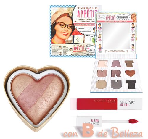 Maquillaje regalo San Valentín