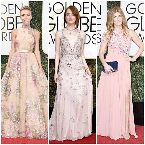 Looks Globo de Ouro 2017