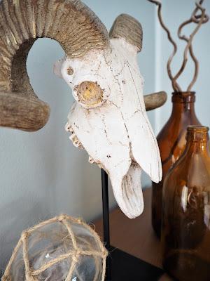 rustiikki, kallo, pääkallo, maskuliininen sisustus