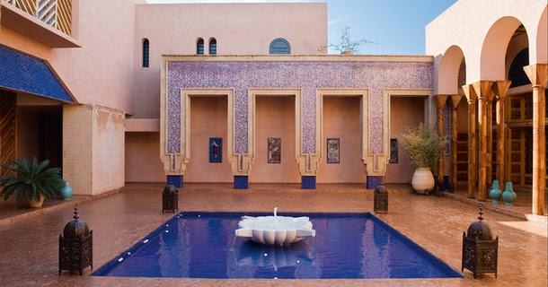 Francois Illas New Tradition: Loveisspeed.......: Villa In Marrakech, Architect Jean