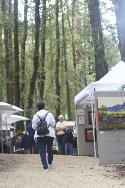 annual Kings Mountain Art Fair  In Woodside, California