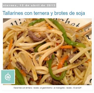 Recetas TOP10 - Recetas el gastrónomo - El gastrónomo - ÁlvaroGP - el troblogdita