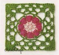 Patron #853: Grannys a Crochet
