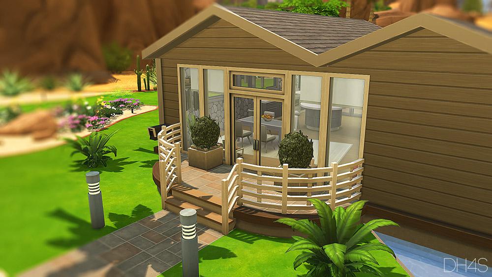 Palm Springs California Sims 4 Houses