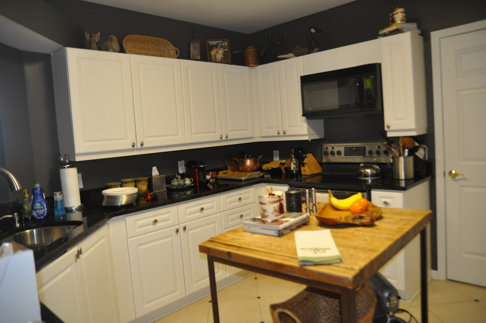 Now Here Was Where We Were With The Kitchen Before I Started