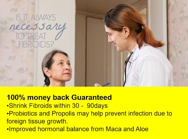Fibroids Treatment - Fibroid Solution Pack