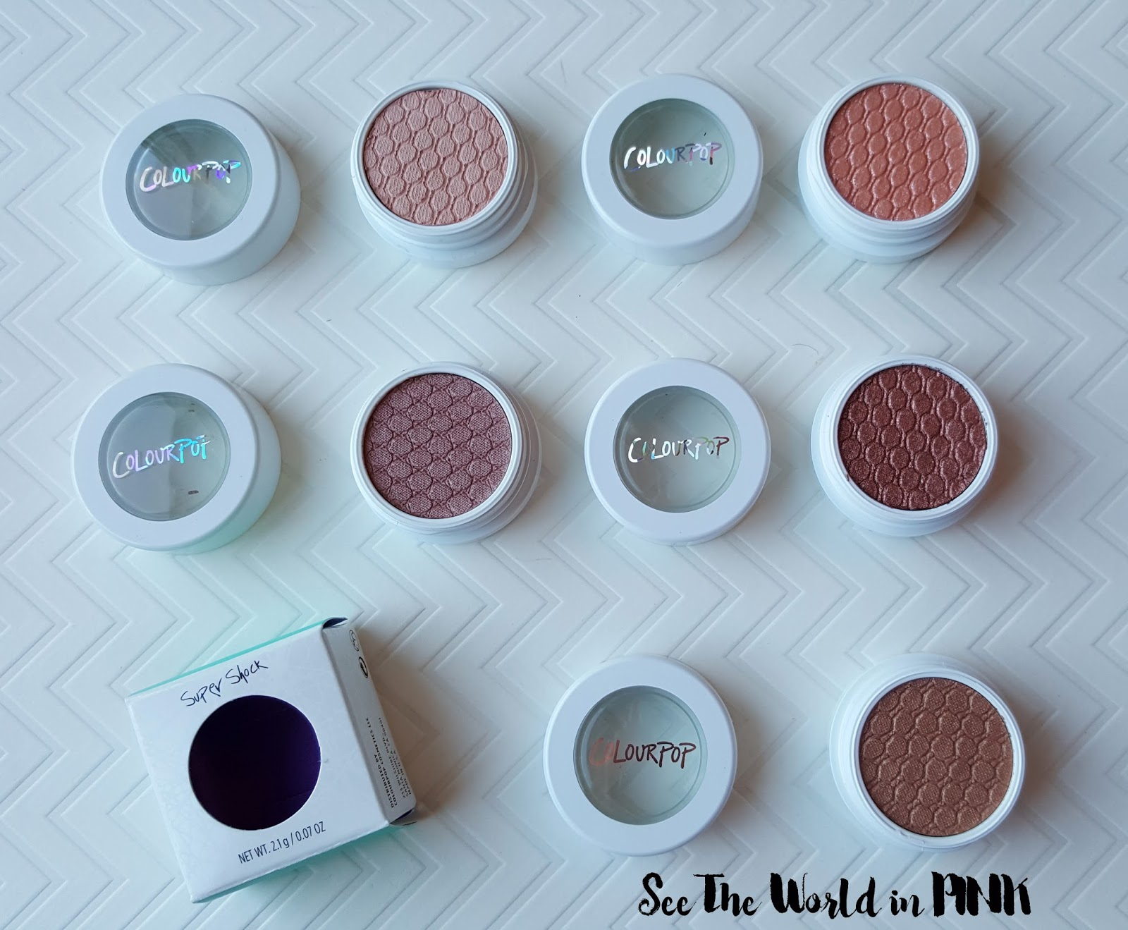 colourpop supershock eyeshadows