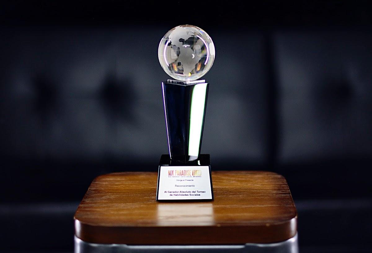 Trofeo Al Ganador Del Torneo De Habilidades Sociales