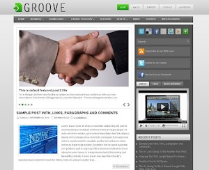 Groove Blogger Template