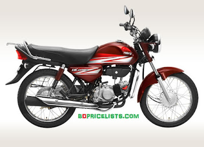 Hero HF Dawn Motorcycle Specifications & Price In Bangladesh