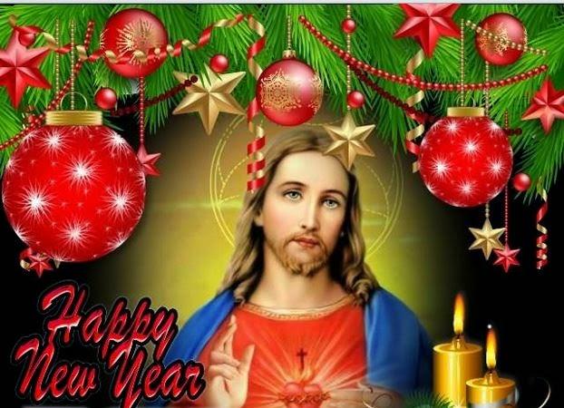 Happy New Year 2016 Jesus Images 1080p
