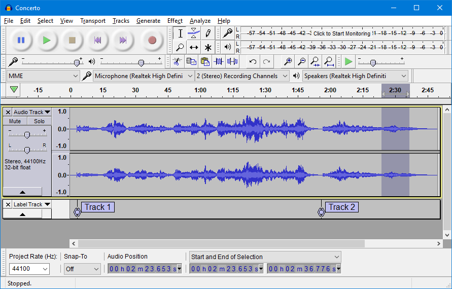 Audacity offline installer free download