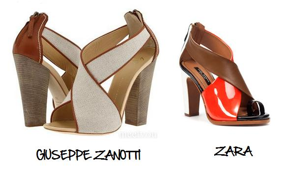 Clones 2011 zapatos Giuseppe Zanotti Zara