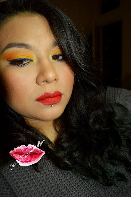 Strelitzia, I'm Feeling, Cherry Diamond Lips, Kiko Cosmetics, Neve Cosmetics, Nabla, MermaidvsUnicorns, Makeup Revolution, Inifity Eyeshadow 258 206, Magma, Cherry Red, Shaka, 297 Red Passio Color Riche L'Orèal