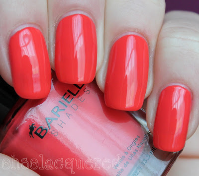 Barielle Some Like It Hot Collection Swatches & Review