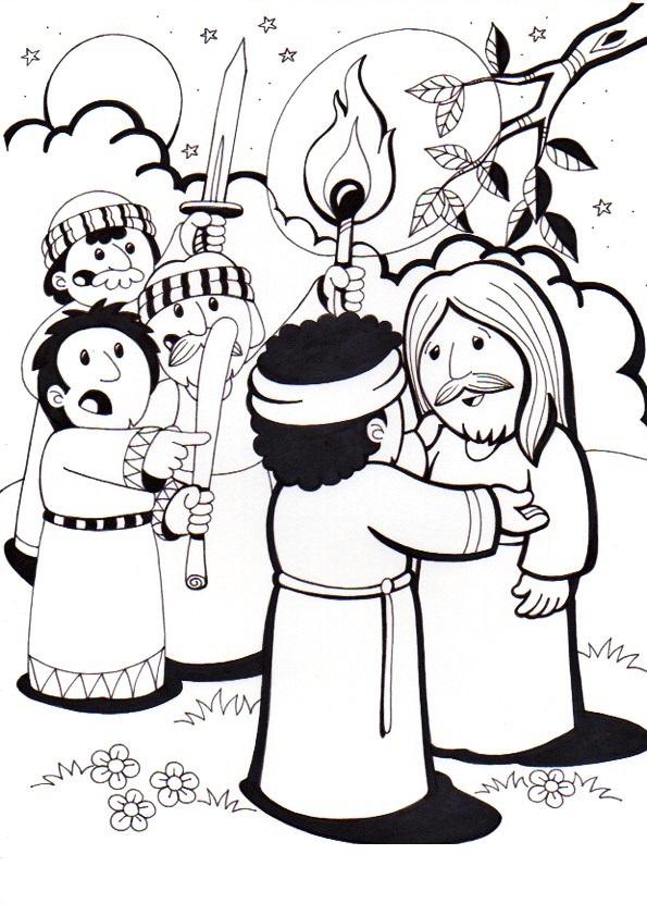 El Rincón de las Melli: 2º ESTACION: Jesús, traicionado