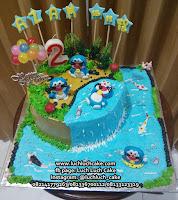 Kue Ulang Tahun Doraemon Lucu dan Unik