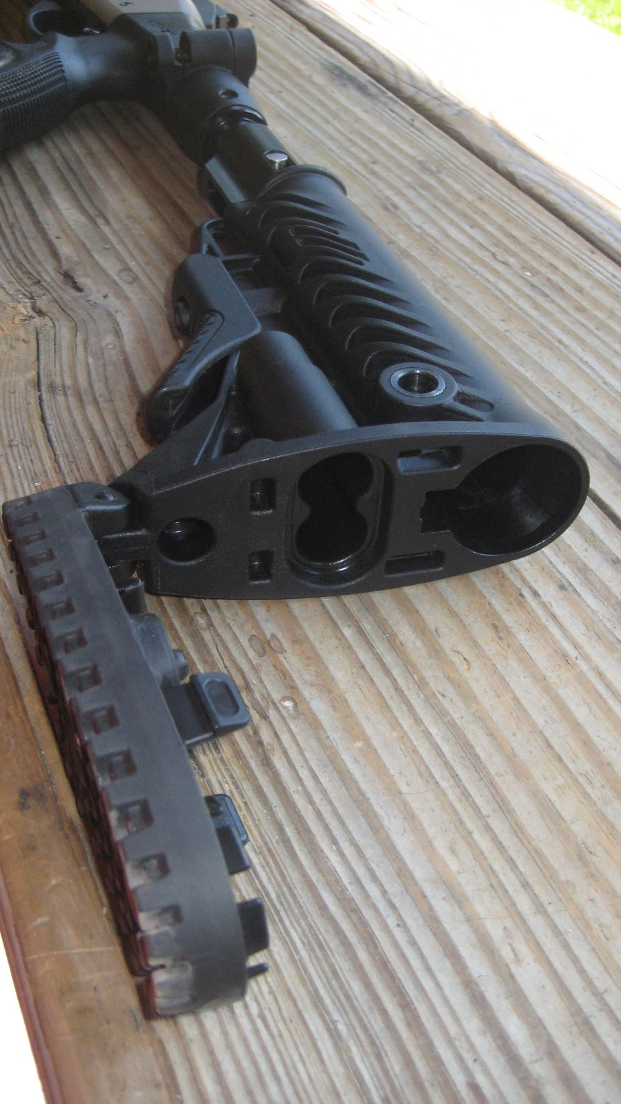 Mako/Fab AGR 870-FKSB AR15/M4 Collapsible Buttstock with