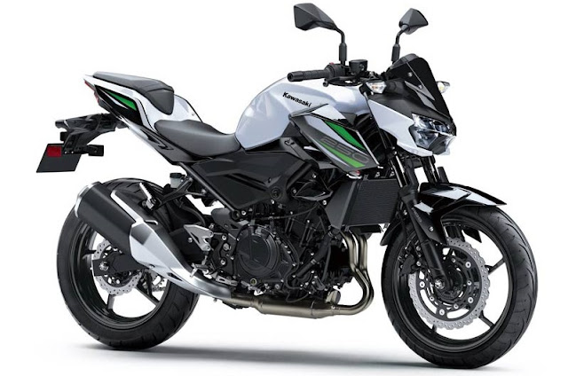 All New Kawasaki Z250 2019 putih