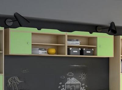 Εταζέρα για παιδικό δωμάτιο