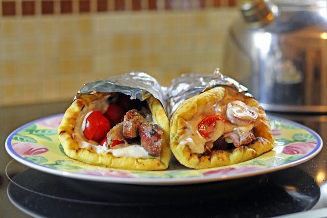 Σπιτικό Χοιρινό Σουβλάκι /  Homemade Souvlaki with Pork Chops