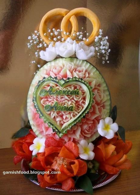 GarnishFoodBlog Fruit Carving Arrangements and Food Garnishes