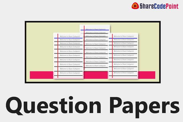 MEC311 : Machine Tools And Machining End Term Exam Question Paper - MEC 311 - Lpu Question Paper