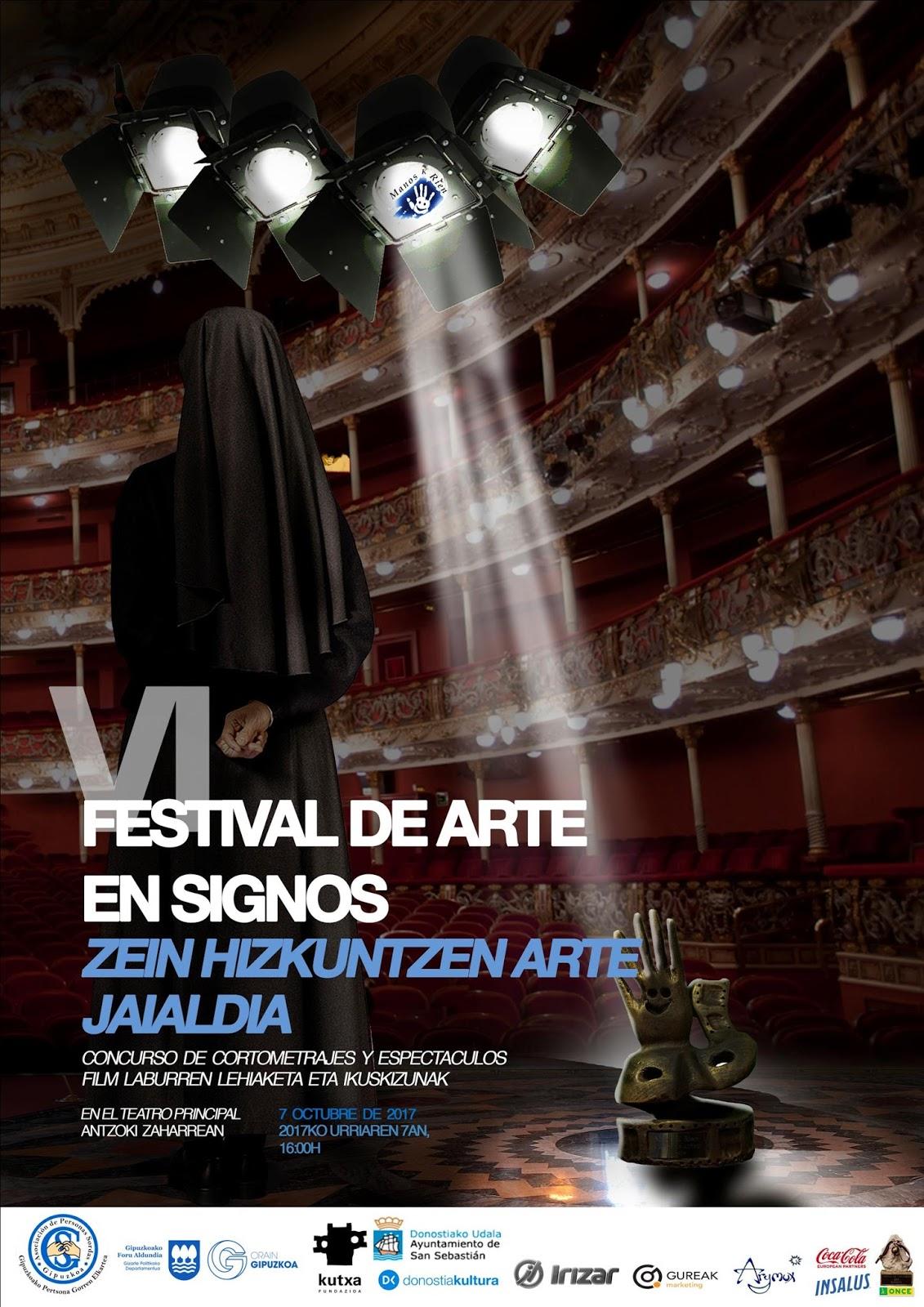 VI Festival de Arte en Signos - San Sebastián, 7 oct.'17 Caretl%2Bfestival%2B2017