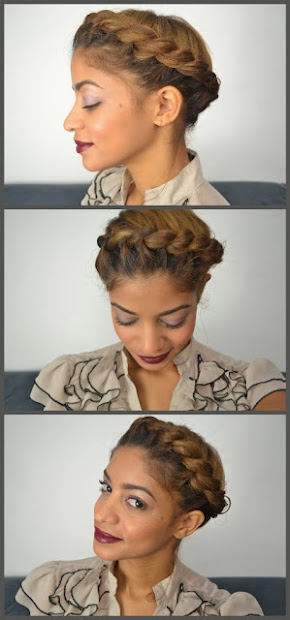 easy natural hair protective styles