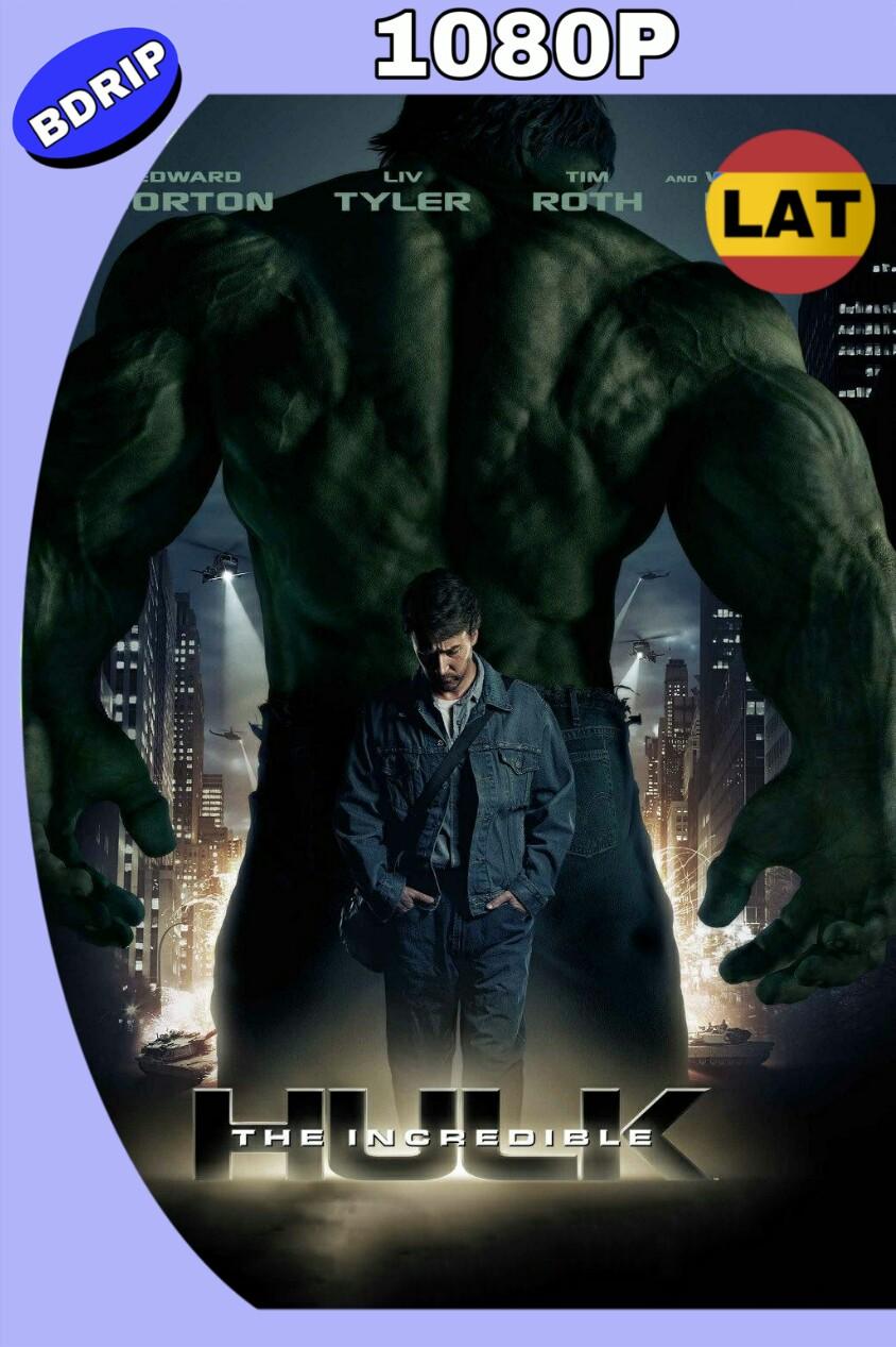 HULK: EL HOMBRE INCREÍBLE (2008) HD BDRIP 1080P LAT-ING MKV
