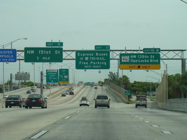 Viagem de carro Miami a Orlando