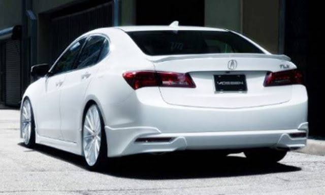 2018 Acura TLX Specifications