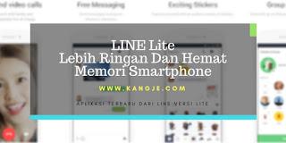 LINE Lite Jauh Lebih Ringan Dan Hemat Memori Smartphone