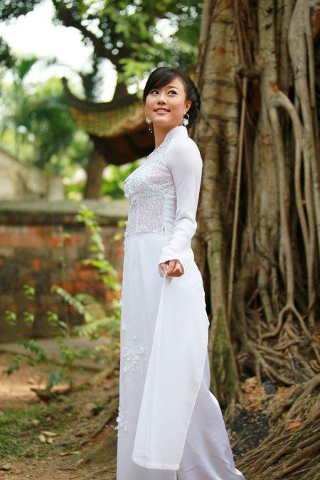 Hot Girls Vietnamese Sexy Ao Dai Viet Nam-1103