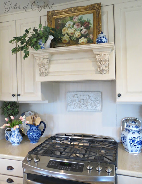 A Romantic French Kitchen