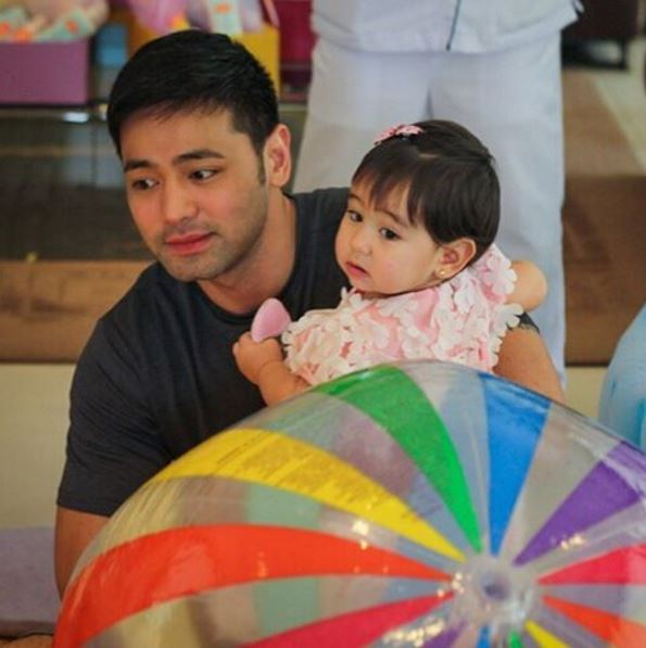 Hayden Kho's daughter Scarlet Snow.