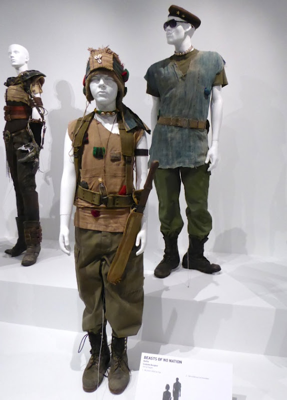 Beasts of No Nation film costume exhibit FIDM Museum