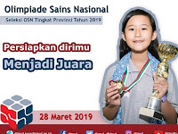 OSN SD 2019 Tingkat Provinsi 28 Maret 2019