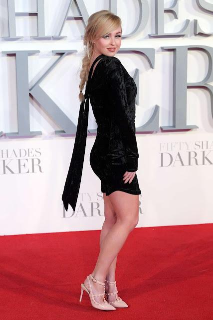 Jorgie Porter – 'Fifty Shades Darker' Premiere in London