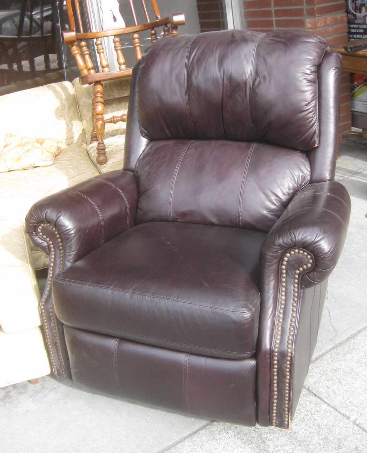 Amazing Leather Recliners Maroon Granger Large Sofa With 2 Machost Co Dining Chair Design Ideas Machostcouk
